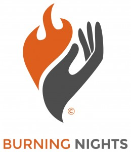 Burning Nights orange logo