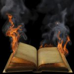 CRPS Awareness Products - Flaming Book by Burning Nights