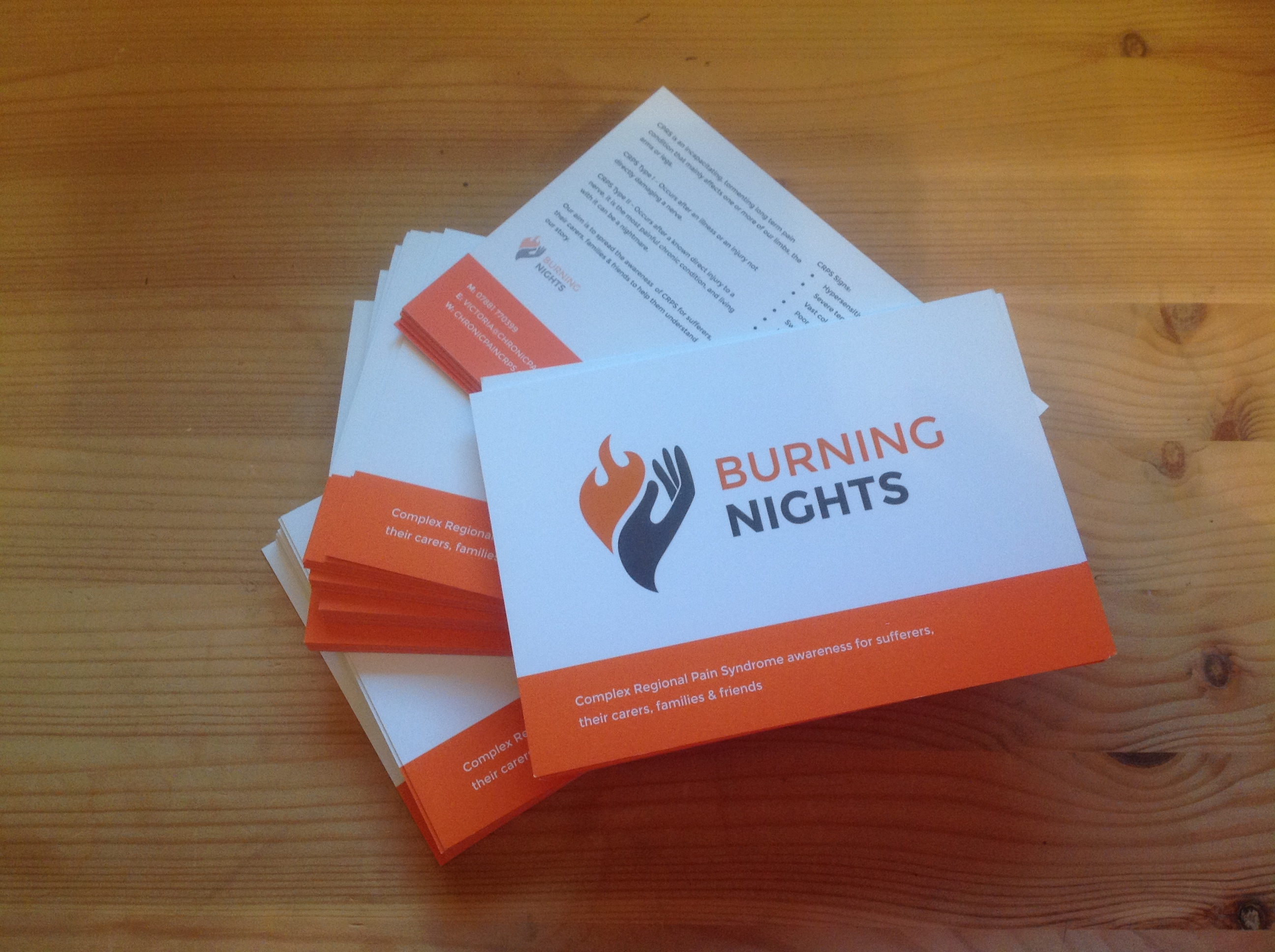 CRPS/RSD Awareness by Awareness Postcards