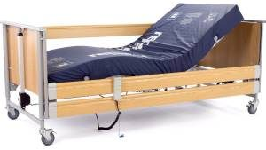 Hospital profiling bed