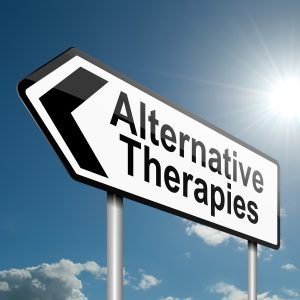 Alternative Therapies Sign via Big Stock photo