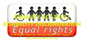Equality Act 2010   Disability Discrimination