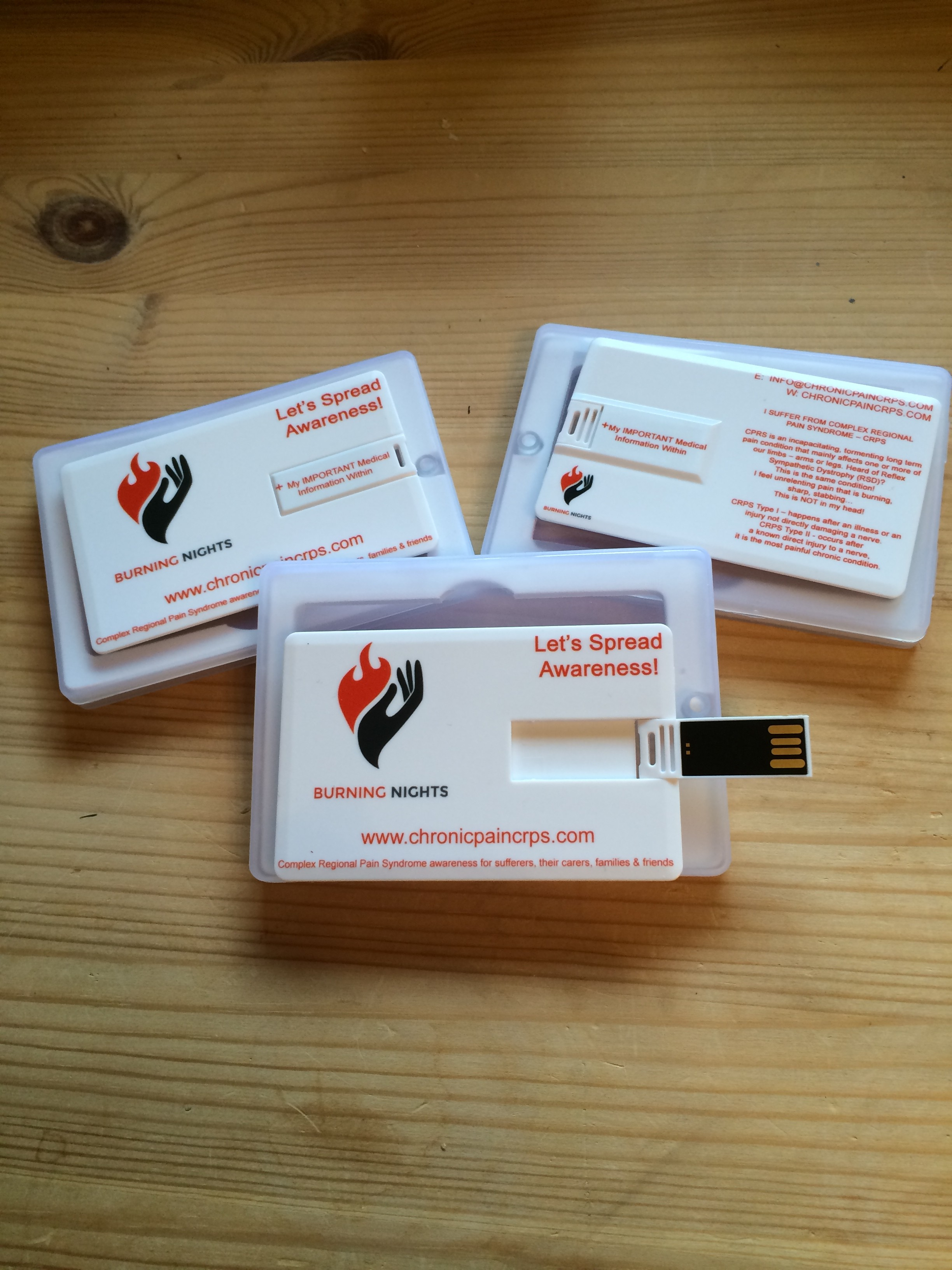 Medical Information USB for CRPS