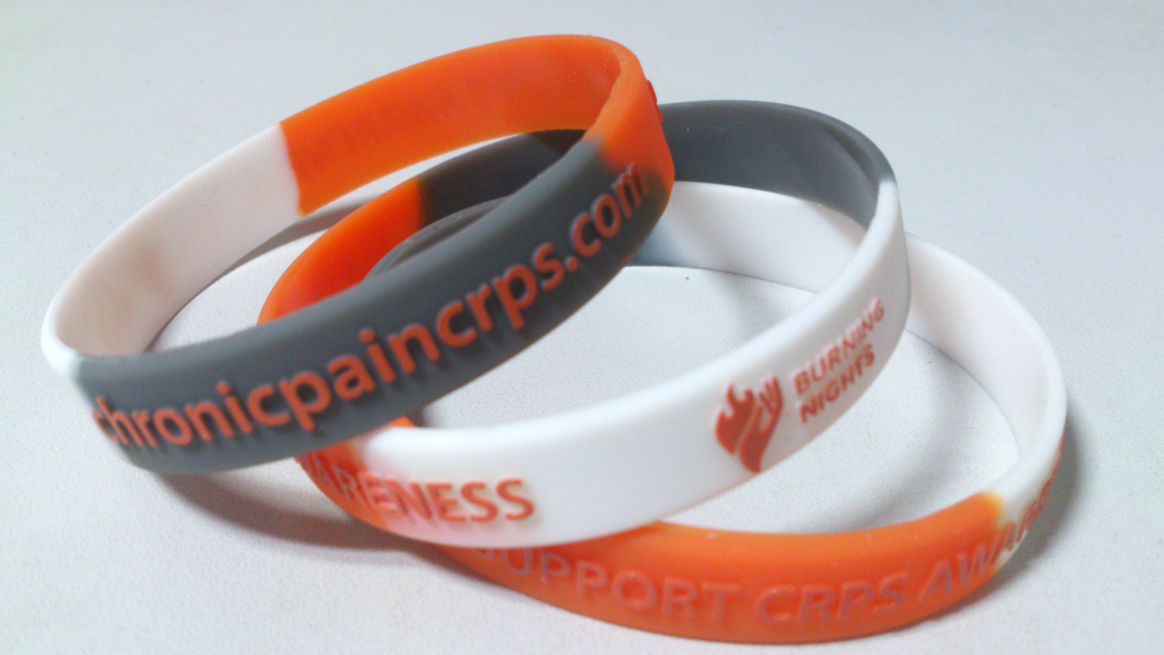 CRPS RSD support awareness wristbands