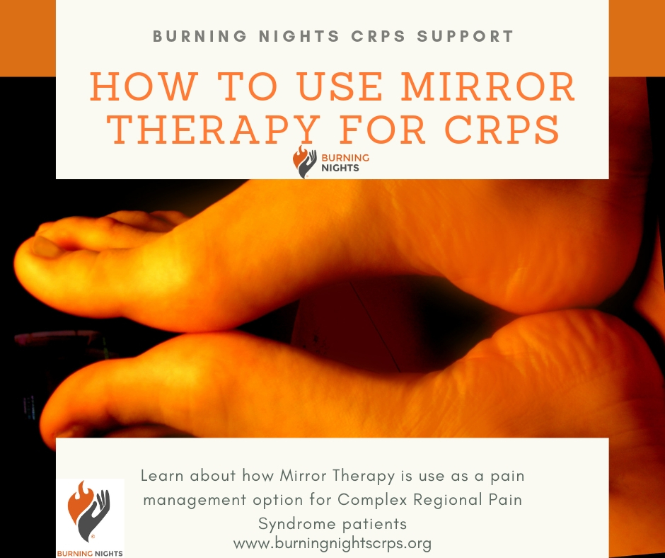 How To Use Mirror Therapy for CRPS via Burning Nights CRPS Support
