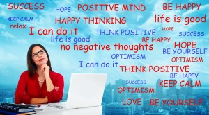 Positive Thinking words