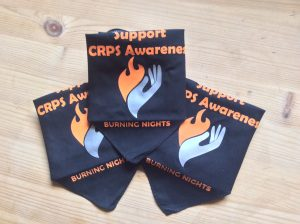 CRPS/RSD Awareness via Pet Bandana