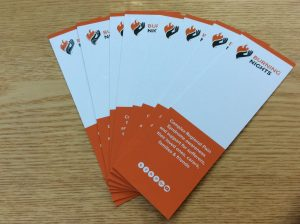 CRPS/RSD Awareness Bookmarks via Burning Nights CRPS Support