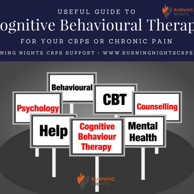 Useful Guide To Cognitive Behavioural Therapy (CBT) for CRPS or Chronic Pain | Burning Nights CRPS Support
