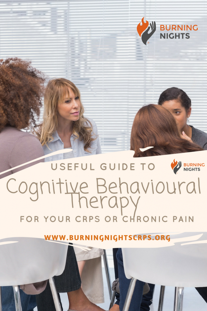 Useful Guide To Cognitive Behavioural Therapy for your CRPS or Chronic Pain | Burning Nights CRPS Support