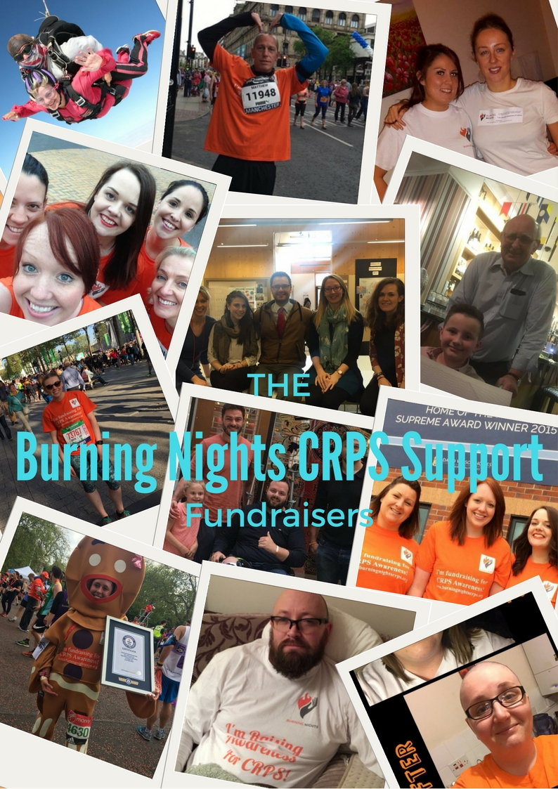 Burning Nights CRPS Support Charity Fundraisers
