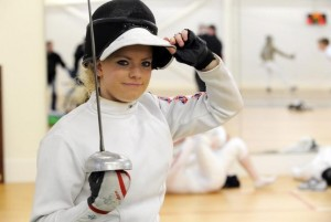 Gemma Collis GB wheelchair fencer & 2012 Paralympian