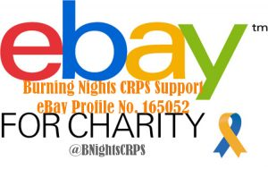 eBay for charity | Burning Nights CRPS Support