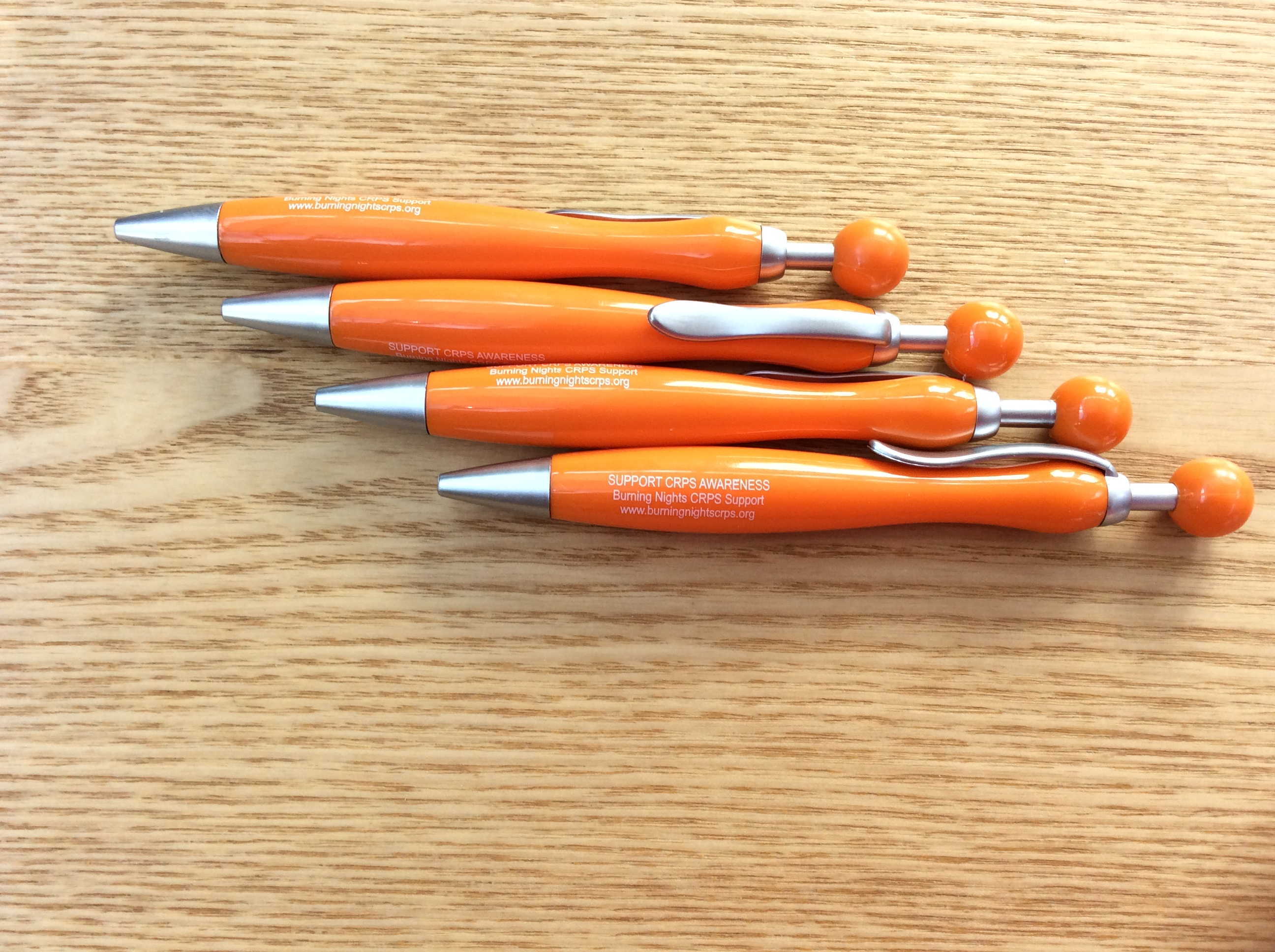 Burning Nights CRPS Awareness Pen