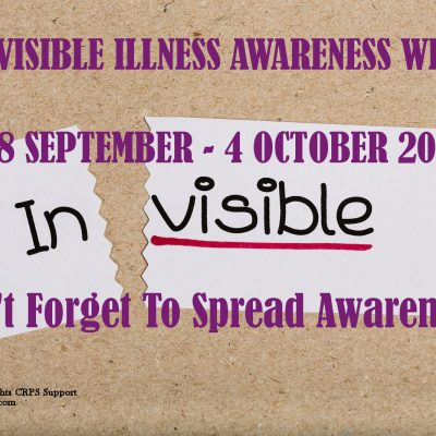 Invisible Illness awareness Week