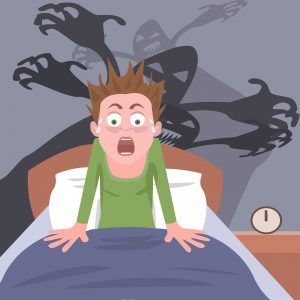Rapid Eye Movement (REM) dreams and nightmares