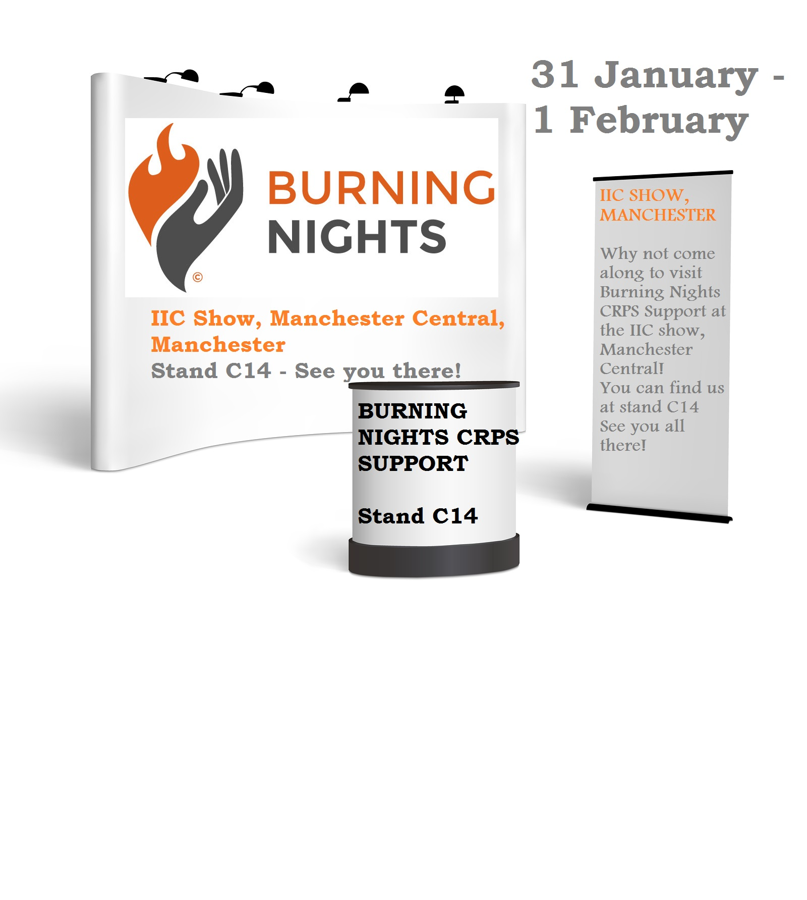 IIC Show - Burning Nights1