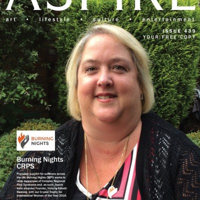 Aspire Magazine's Inspirational Woman of the Year 2016 for our Founder, Victoria