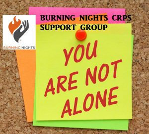 You are not alone in this CRPS journey