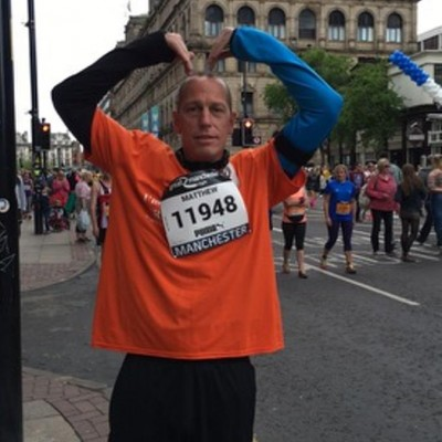Matt Lowthe at Great Manchester Run 22 May 16