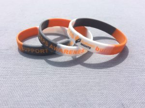 Burning Nights CRPS Support wristband