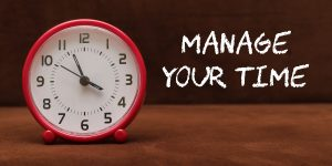 12 tips on Stress Management - Time Management