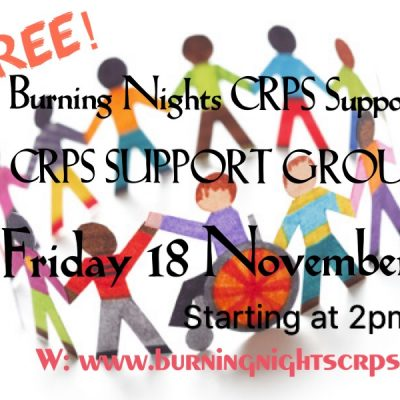 Burning Nights CRPS support group Bristol