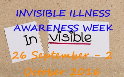 Invisible Illness week 2016