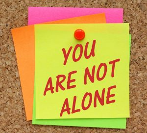 Please Remember You are not alone