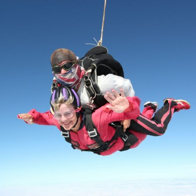Linda Brown Skydive fundraiser