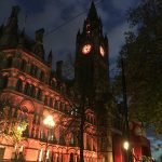 Manchester Town Hall Lights Change - 1 Nov 2016