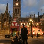 Manchester Town Hall Lights Change Nov 2016 - BN Founder & Altaf trustee