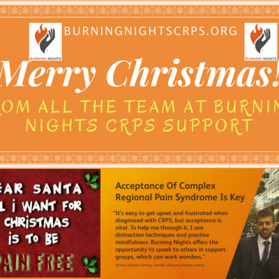 Merry Christmas & Happy New Year! | Burning Nights CRPS Support