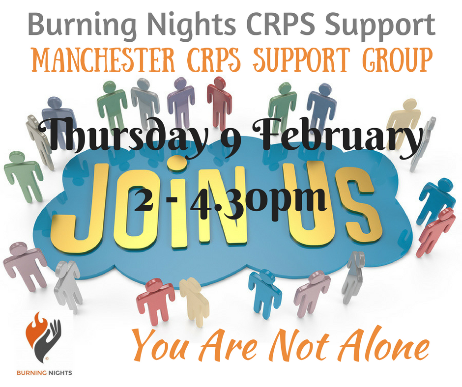 Burning Nights Manchester CRPS support group | 9 February 2017