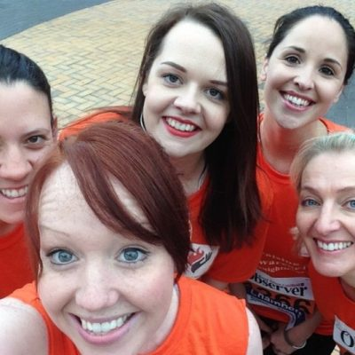 Half Marathon fundraising charity event | Burning Nights CRPS Support charity fundraiser
