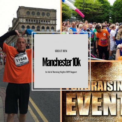 Great Manchester Run 10k 2017 | Burning Nights CRPS Support
