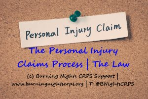 Help in understanding the personal injury process in CRPS claims part 2 | Personal injury law
