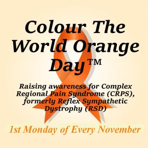 CRPS Awareness Month   Colour The World Orange Day   CRPS Awareness Day
