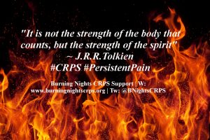 CRPS Awareness Month | CRPS Quote of Strength