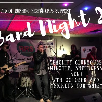 Kent Band Night 2 | In aid of Burning Nights CRPS Support charity