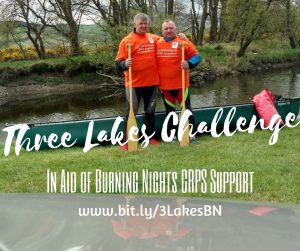 Three Lakes Challenge | In aid of Burning Nights CRPS Support