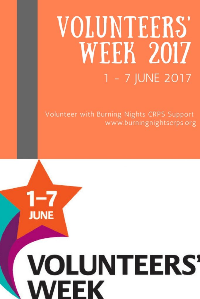 Volunteers' Week 2017 | Burning Nights CRPS Support