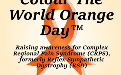 Colour The World Orange-Day CRPS Awareness Day 2017 | Burning Nights CRPS Support