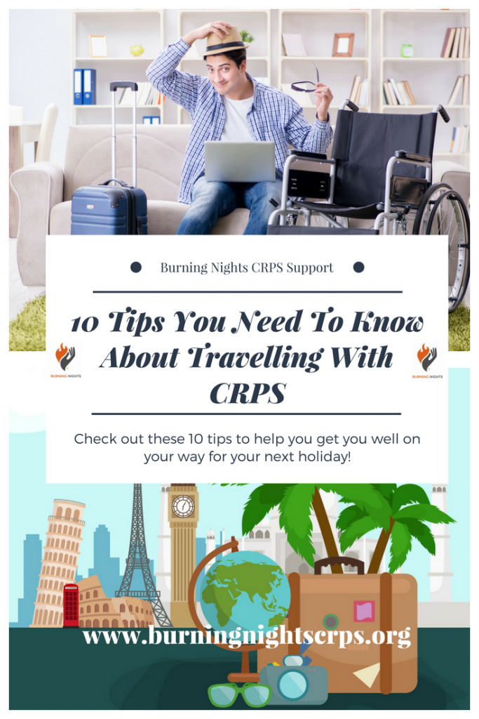 10 Tips You Need To Know About Travelling With CRPS