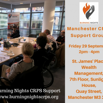 Manchester CRPS Support Group | Burning Nights CRPS Support