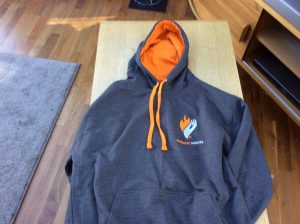 Burning Nights CRPS Hoodie | Burning Nights CRPS Support