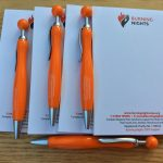 Burning Nights CRPS Support Notepad and Pen Set
