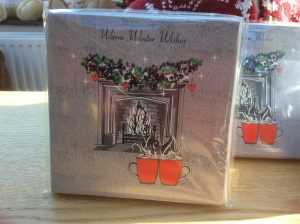 Charity Christmas Cards - Individual view - Warm Winter Wishes | Burning Nights CRPS Support