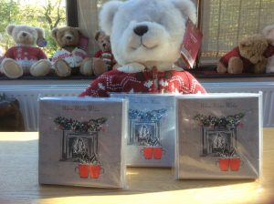 Charity Christmas Cards - Warm Winter Wishes | Burning Nights CRPS Support