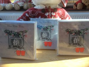 Charity Christmas Cards in aid of Burning Nights CRPS Support - Warm Winter Wishes